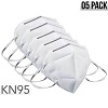 KN95 Disposable Face Mask Protective Respirator Covers Mouth & Nose (05 Pack) *FREE SHIPPING*
