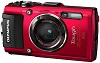 Tough TG-4 16.0 MegaPixel, 4x Fast f/2.0 Opt Zoom, 3.0 In. LCD, GPS, Full HD Movie, GPS, Shockproof, Waterproof And Freezeproof Digital Camera - Red *FREE SHIPPING*