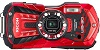 WG-30 16 MegaPixel, 5x Opt Image Stabilized Zoom, 2.7-Inch LCD, Water, Dust, Crush, Shock, and Coldproof Digital Camera - Vermilion Red *FREE SHIPPING*