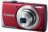 PowerShot A2500 16.0 Megapixel , 5x Wide Angle Optical Zoom, 2.7 Inch LCD Screen, HD Video Digital Camera - Red *FREE SHIPPING*
