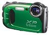 Finepix XP60 16.4 Megapixel, 5x Optical Zoom, 2.7 Inch LCD Screen, Full HD Video, Waterproof, Freezeproof, Dustproof & Shockproof Digital Camera - Green *FREE SHIPPING*