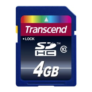 4GB SDHC Class 10 Secure Digital Memory Card