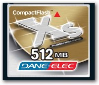 512mb  41x High Speed Compact Flash Xs Memory Card