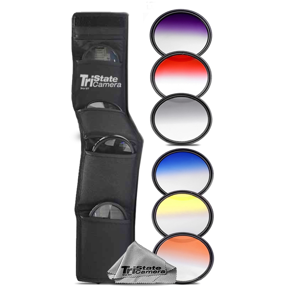 6PC Graduated Color Filer Set *FREE SHIPPING*