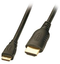 6 Foot Gold Plated Mini Hdmi To Hdmi Cable