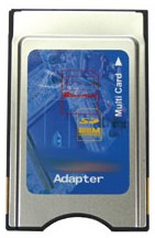 6-In-1 Pcmcia Adapter (Including Xd Cards) *FREE SHIPPING*