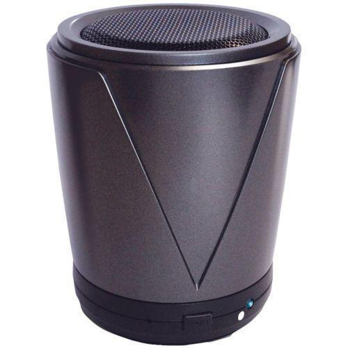 Hot Joe Portable Wireless Speaker for Smartphones - Retail Packaging - Gray *FREE SHIPPING*