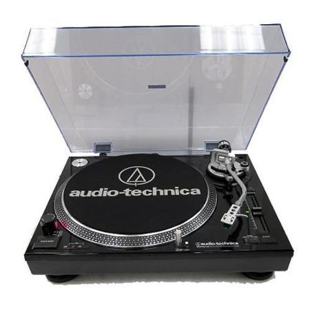AT-LP120BK-USB Direct-Drive Professional Turntable with USB - Black *FREE SHIPPING*