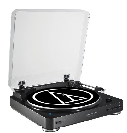AT-LP60BK-BT Fully Automatic Wireless Belt-Drive Stereo Turntable with Bluetooth - Black *FREE SHIPPING*