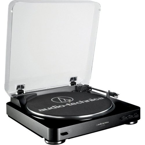 AT-LP60BK-USB Fully Automatic Belt Driven Turntable - Black *FREE SHIPPING*