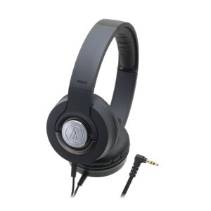Solid Bass ATH-WS33X Closed-back Dynamic Headphones, Black *FREE SHIPPING*