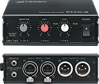 FMX-20 2-Channel Portable Microphone Field Mixer