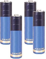 AA Alkaline Batteries (4 Pack)