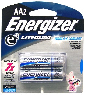 El91-Bp2 Aa-2 Lithium Batteries