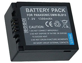 Dmw-Blb13 Recchargeable Lithium-Ion Battery Pack For Dmc-G1 DSLR Camera *FREE SHIPPING*