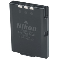 EN-EL2 Li-Ion Rechargeable Battery For Coolpix Sq, 3500 And 2500 Digtal Camera *FREE SHIPPING*