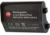 EN-EL4 Replacement Rechargeable Lithium-Ion Battery Pack For Nikon D-2 & D-3 Series Digital Cameras *FREE SHIPPING*