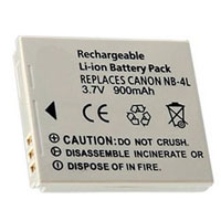 NB-4L Battery Pack  *FREE SHIPPING*