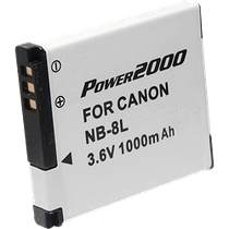 NB-8L Battery Pack For  PowerShot A3000 & A3100 IS Digital Cameras