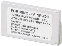 NP-200 Lithium-Ion Rechargeable Battery Pack F/Dimage X ,Xi ,Xt & Xg  Digital Cameras *FREE SHIPPING*