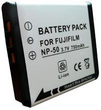 NP-50 Lithium-Ion Rechargeable Battery Pack For Select Fuji Finepix Cameras *FREE SHIPPING*