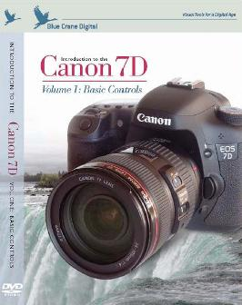 BC-129 Introduction DVD To The Canon EOS 7D Digital SLR - Volume 1 *FREE SHIPPING*