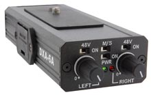 Dual 48v Phantom Adapter For The Sony Fx1/Fx7 And Vx2100