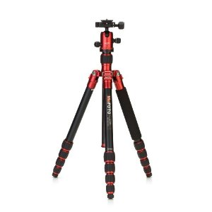 RoadTrip Travel Tripod w/Q Series Arca-Swiss Style QR Mount and QR Plate Ballhead - Red *FREE SHIPPING*