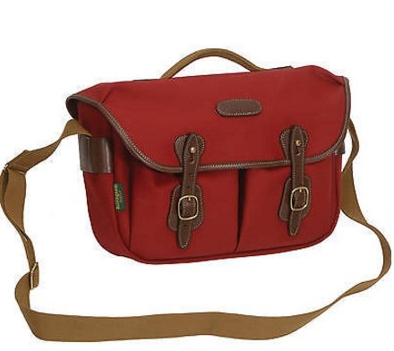 Hadley Pro Special Edition Camera Shoulder Bag - Burgundy with Chocolate Leather Trim *FREE SHIPPING*