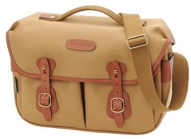 Hadley Pro Camera Shoulder Bag - Khaki with Tan Leather Trim *FREE SHIPPING*