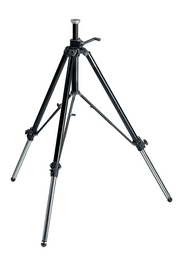 117B Geared Video Tripod w/Rubber Feet & Retractable Metal Spikes - Black *FREE SHIPPING*