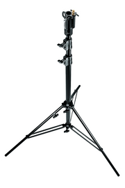 10.8' Black Heavy Duty Zinc Plated Stand W/Leveling Leg