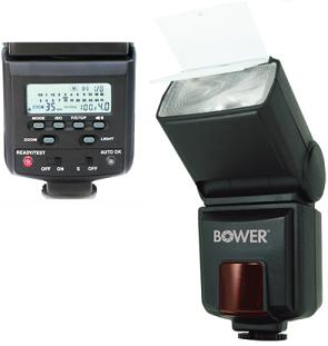 SFD926P P-TTL Digital Power Zoom w/LCD, Built-In Fiffuser/Bouncer Bounce & Swivel Flash For Pentax & Samsung *FREE SHIPPING*
