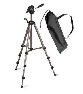 ST-SL2047 Tripod With 3-Way Fluid Head & Bonus Carry Case *FREE SHIPPING*