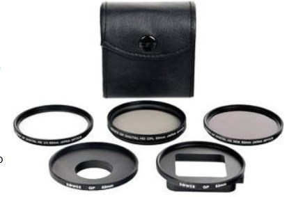 VFKGP6 Xtreme Action Series 6-Piece Filter Kit for GoPro Hero 3 & 3+