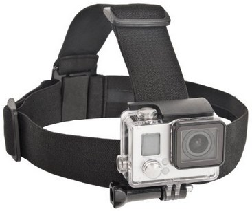 XAS-EHS Xtreme Action Series GoPro Elastic Head Strap  *FREE SHIPPING*