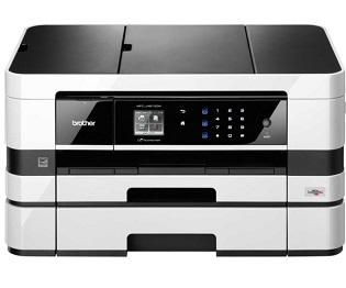 Brother MFC-J4610DW BusinessSmart Wireless Color Photo Printer w/ Scanner, Copier and Fax