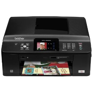 Brother MFCJ625DW Wireless Color Photo Printer with Scanner, Copier and Fax