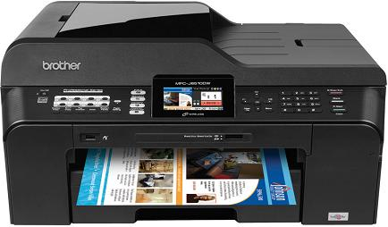 "Brother MFC-J6510DW Professional Series Inkjet All-in-One Printer with up to 11"" x 17"" Duplex Printing"