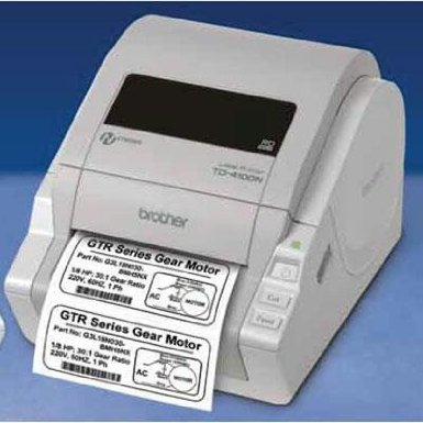 Brother TD-4100N Desktop Network Barcode and Label Printer