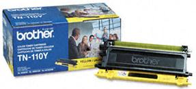 Tn110y Yellow Toner Cartridge (Yield: 1,500 Pages)