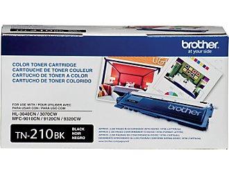 Tn210bk Standard Black Toner Cartridge (Yield: 2,200 Pages)