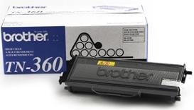 Tn360 High Yield Toner Cartridge (Yield: 2,600 Pages) *FREE SHIPPING*