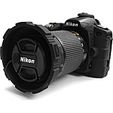 CA-1111BLK Camera Skin For Nikon D-80 Digital SLR - Black *FREE SHIPPING*