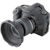 CA-1126blk Camera Skin For Olympus Evolt E410 Digital SLR - Black