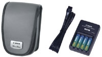 PowerShot A Series Accessory Kit For PowerShot A620, A610 A520, A530, A540, A510, A95, A80, A75, & A700 Digital Cameras