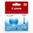 Canon CLI-221 Cyan Ink Tank...