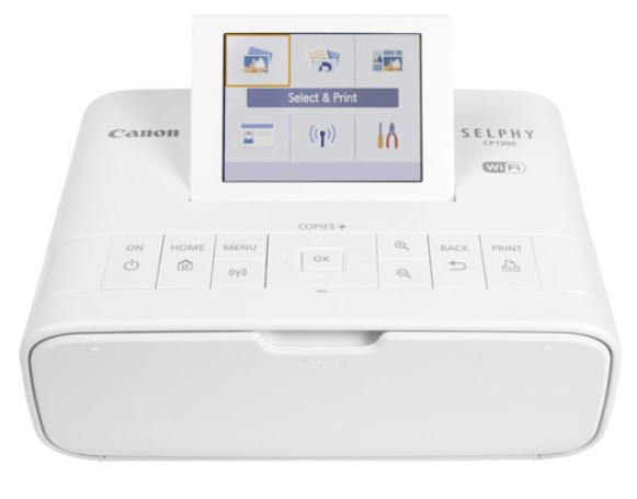 Selphy CP1300 Wireless Color Photo Printer - White *FREE SHIPPING*