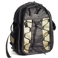 Deluxe Camera Backpack 200EG - Black/Olive