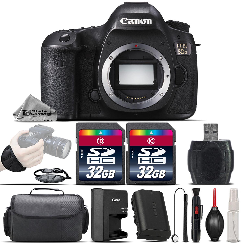 EOS 5DS DSLR 50.6MP Full-Frame CMOS Sensor DIGIC6 Camera - 64GB Kit Bundle *FREE SHIPPING*